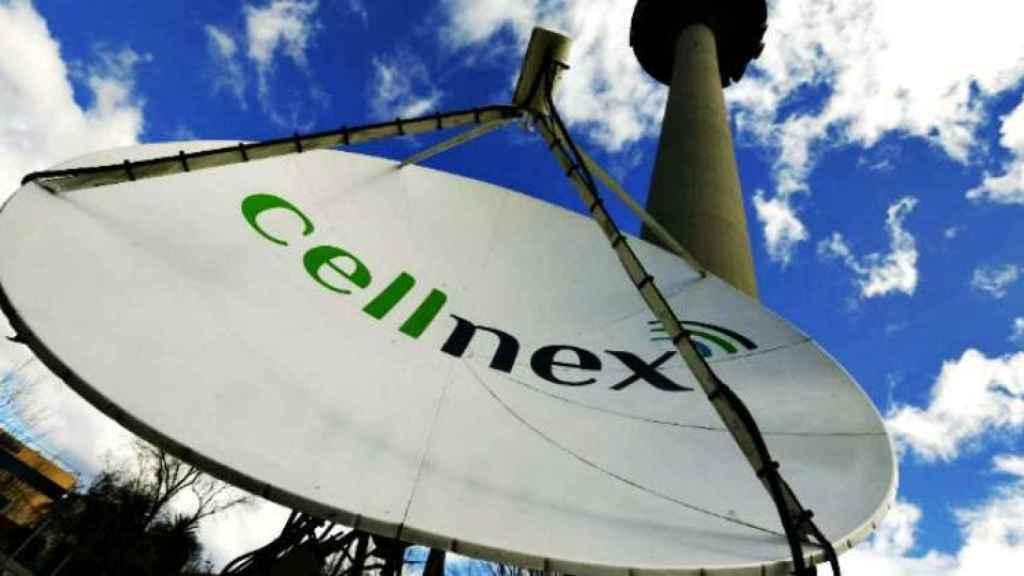 Antena de Cellnex.