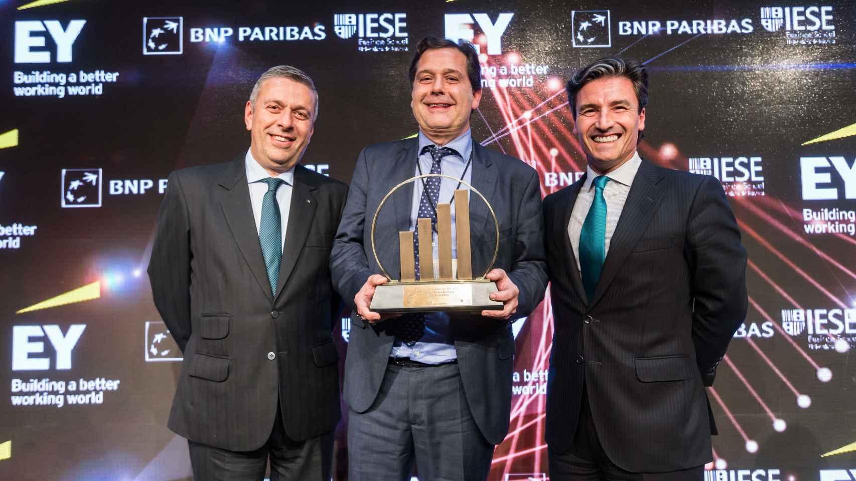 Ignacio Rivera, CEO de Hijos de Rivera, premiado como Emprendedor del año en EY
