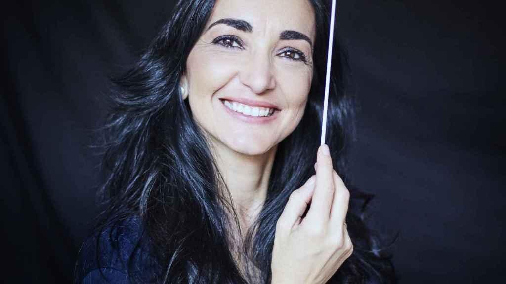 39. Silvia Sanz, una de las pocas directoras de orquesta de nuestro país.
