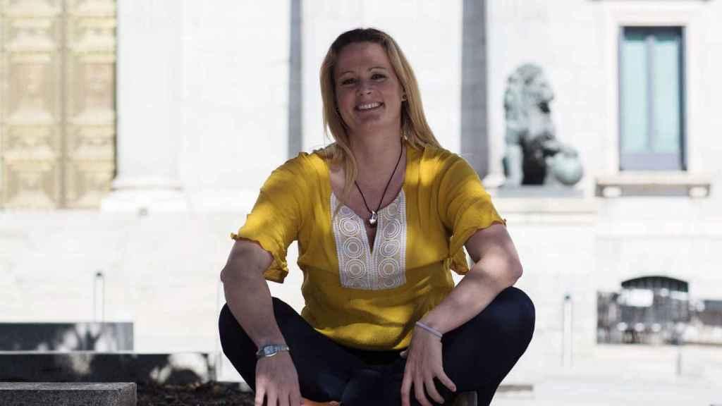 Zaida Cantera, comandante retirada del Ejército de Tierra y diputada nacional por el PSOE.