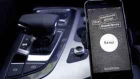 Una imagen de la campaña publicitaria de Audi
