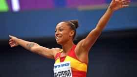 La ribeirense Ana Peleteiro, fue bronce en la final de triple con un salto de 14.40 metros.