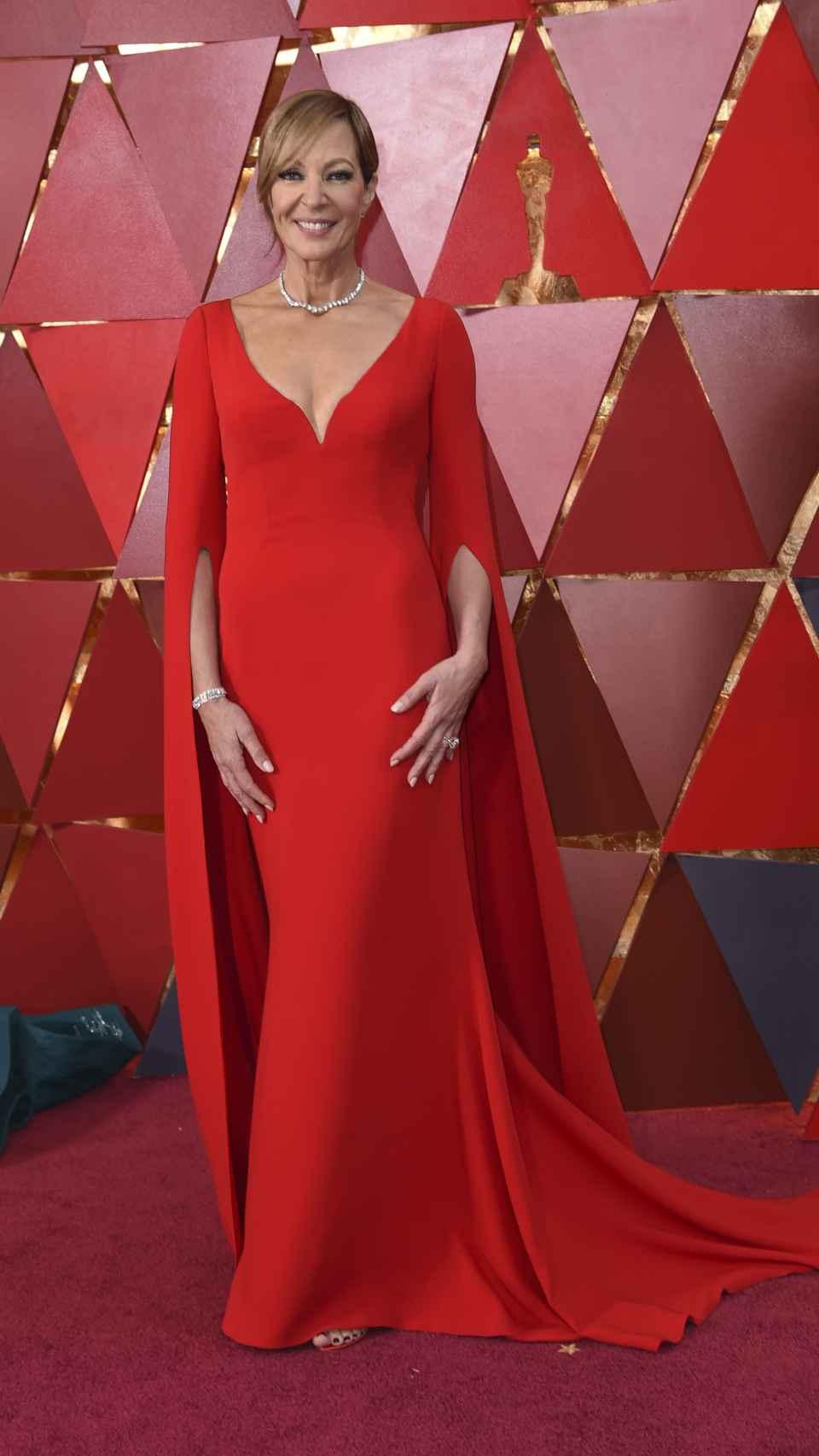 Allison Janney en la alfombra roja.