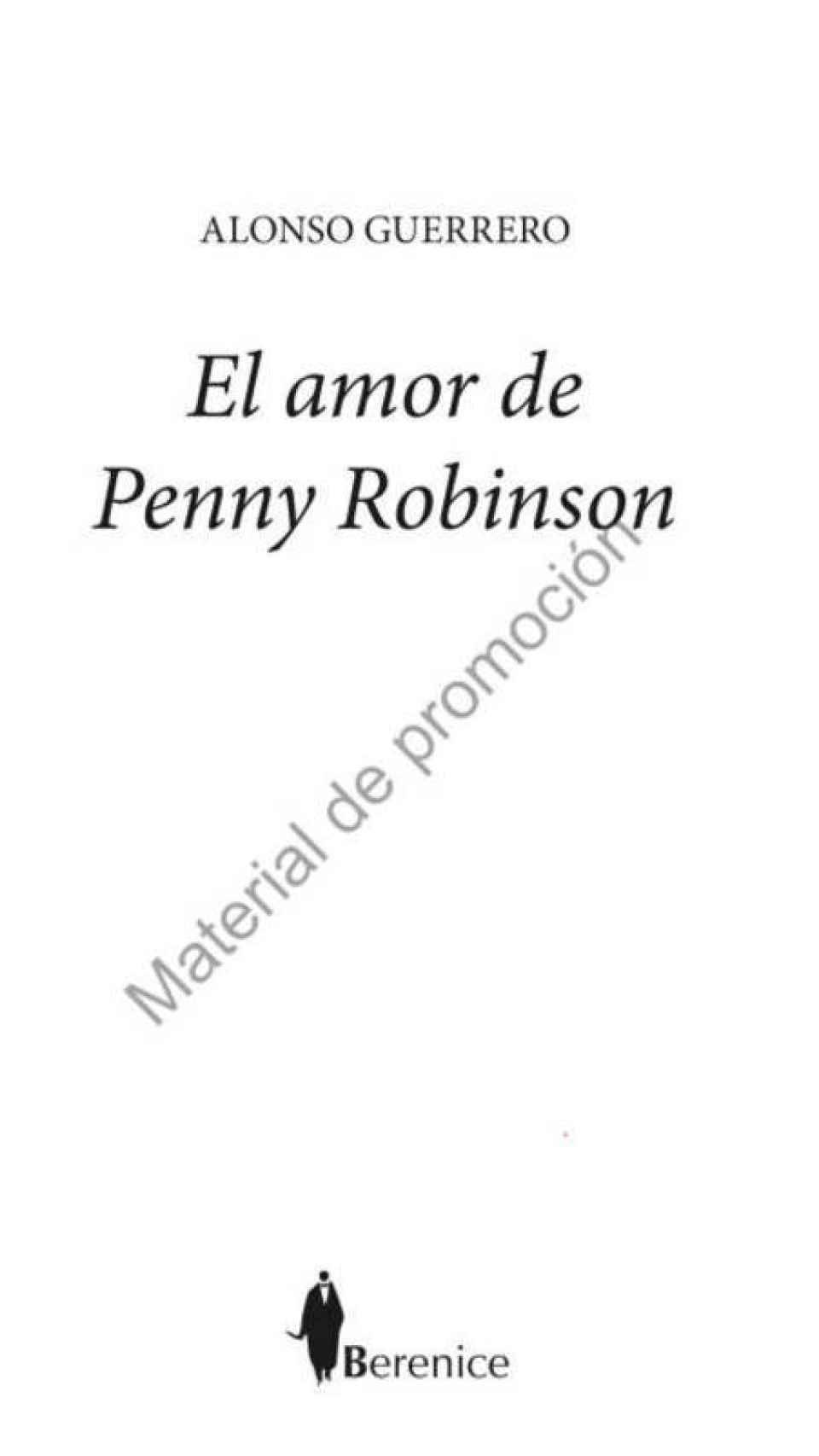 'El amor de Penny Robinson'