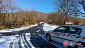 Zamora sanabria carretera nieve 5