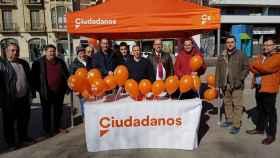 Ciudadanos Zamora carpa (25-02-2018)