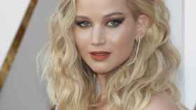 Alfombra roja de los Oscar: Jennifer Lawrence.
