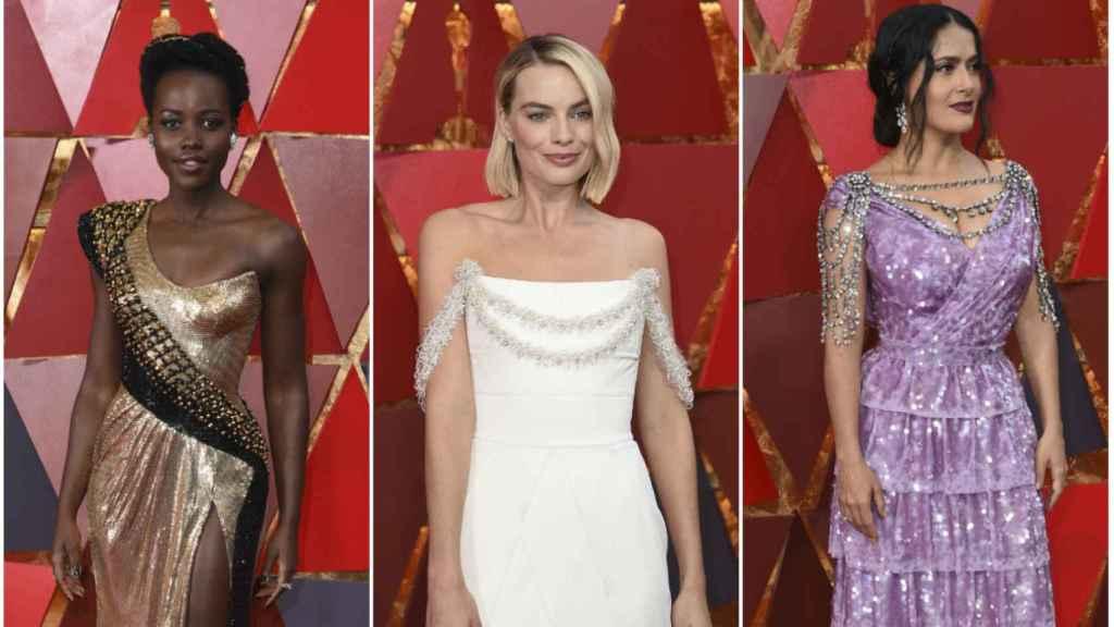 La alfombra roja de los Óscar.