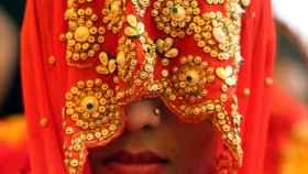 Ceremonia de boda multitudinaria en Bhopal