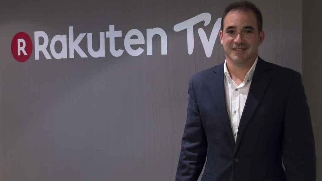 Jacinto Roca, CEO de Rakuten TV.