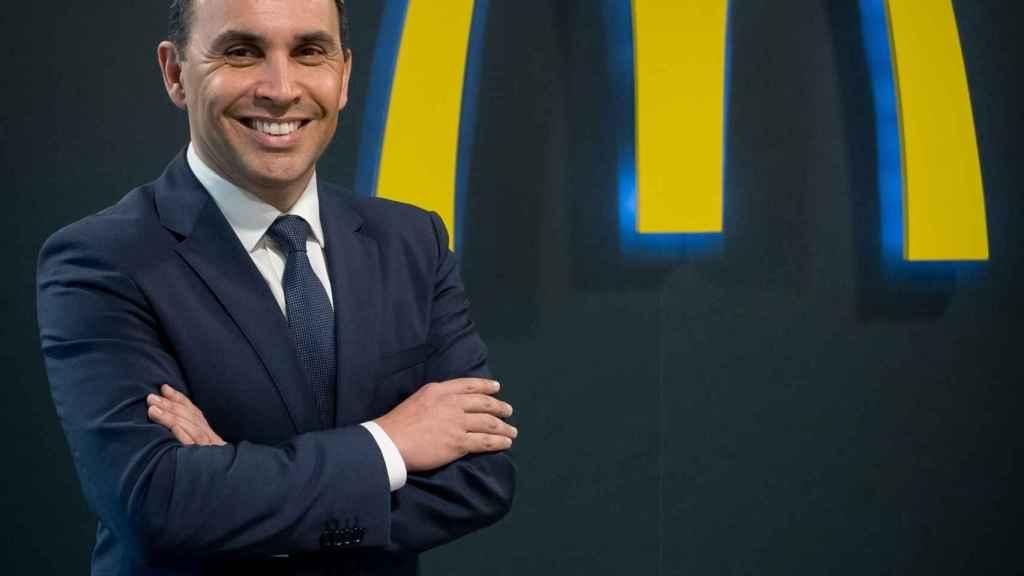 John Alves, director general de McDonald's en España.