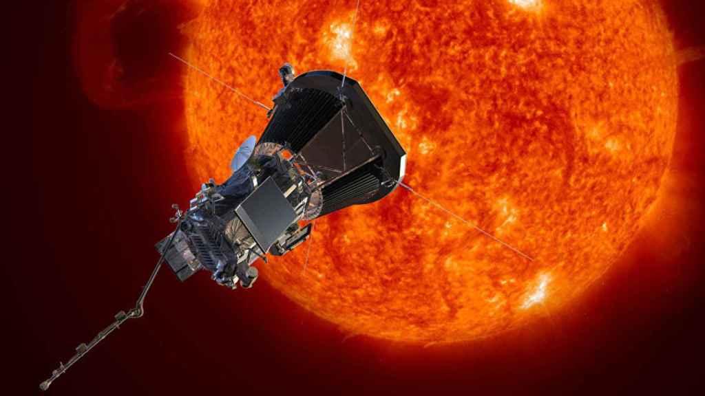 sonda solar parker probe el sol la nasa