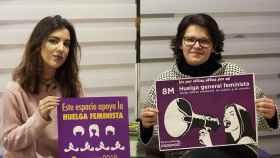 Marta Hernando y Elena Vaquero Podemos