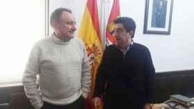 Andres Laso y Vicente Martin