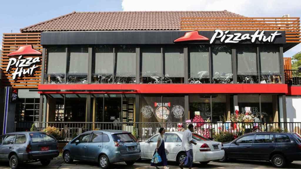 Un local de Pizza Hut, en una imagen de archivo.