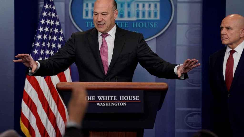 Gary Cohn, principal asesor económico del presidente de EEUU.