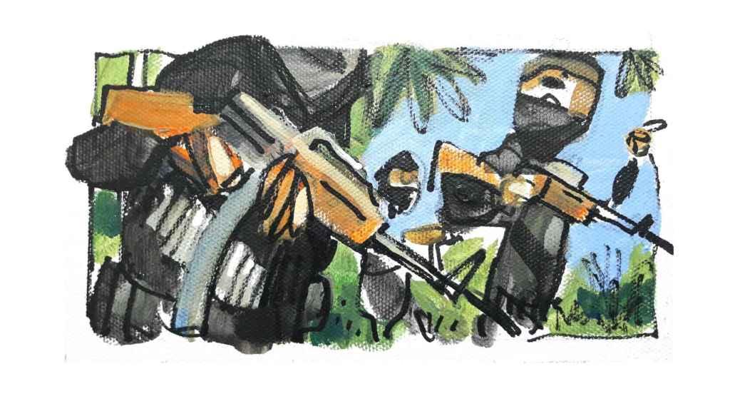 Los yihadistas mataron a cinco personas en su ataque.