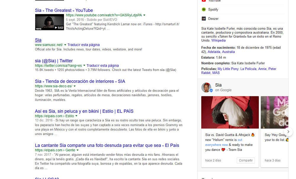 google resultados 4