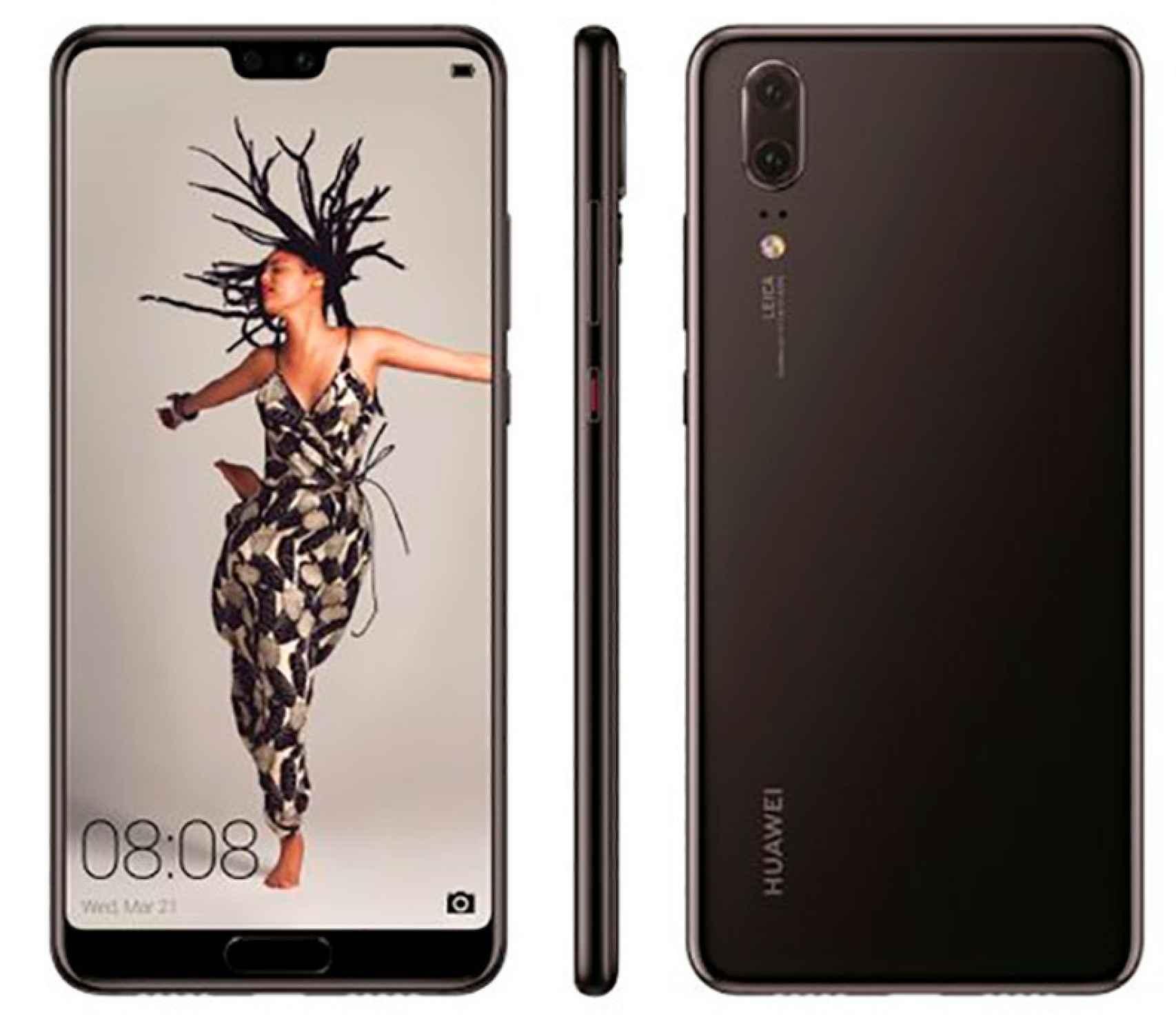 Los Huawei P20, P20 Pro y P20 Lite al detalle en estas imágenes