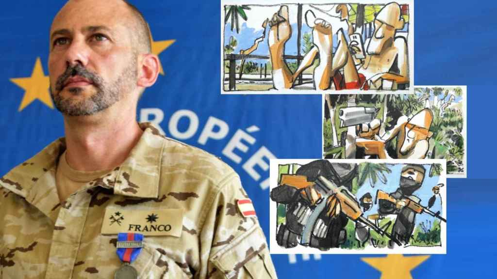 El comandante Miguel Ángel Franco protagonizó el rescate en Mali.