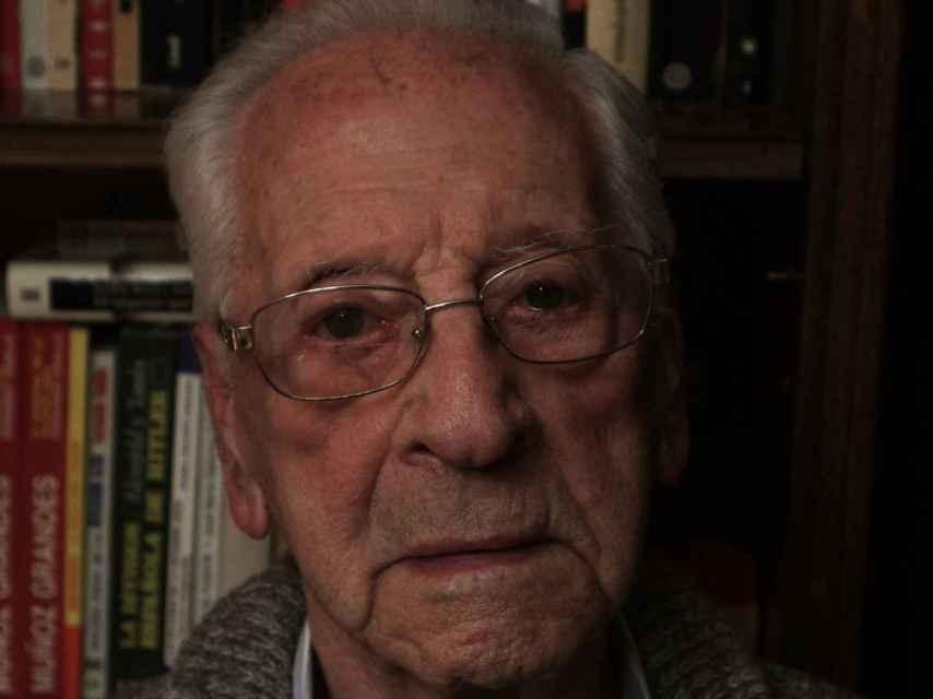 Arturo de Gregorio tiene 97 años, nació en Madrid en 1921.