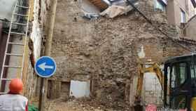 Foto muralla Conde Rebolledo