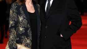 La pareja en la premiere de Mercy en Londres. GTRES.