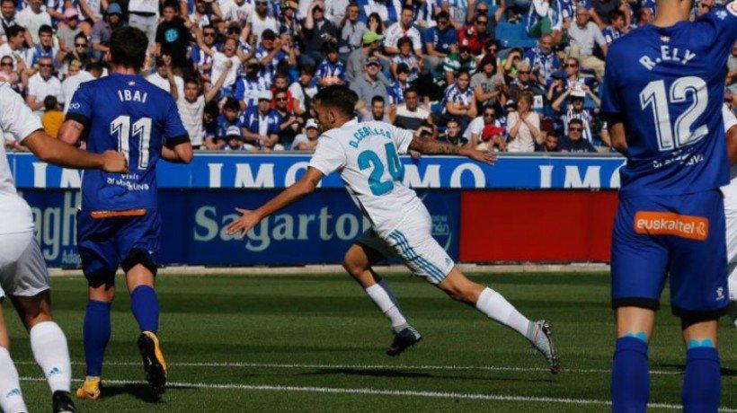 Ceballos no cuenta para Zidane: una vuelta sin ser titular