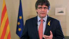 Puigdemont durante su declaración del pasado día 1 de marzo.