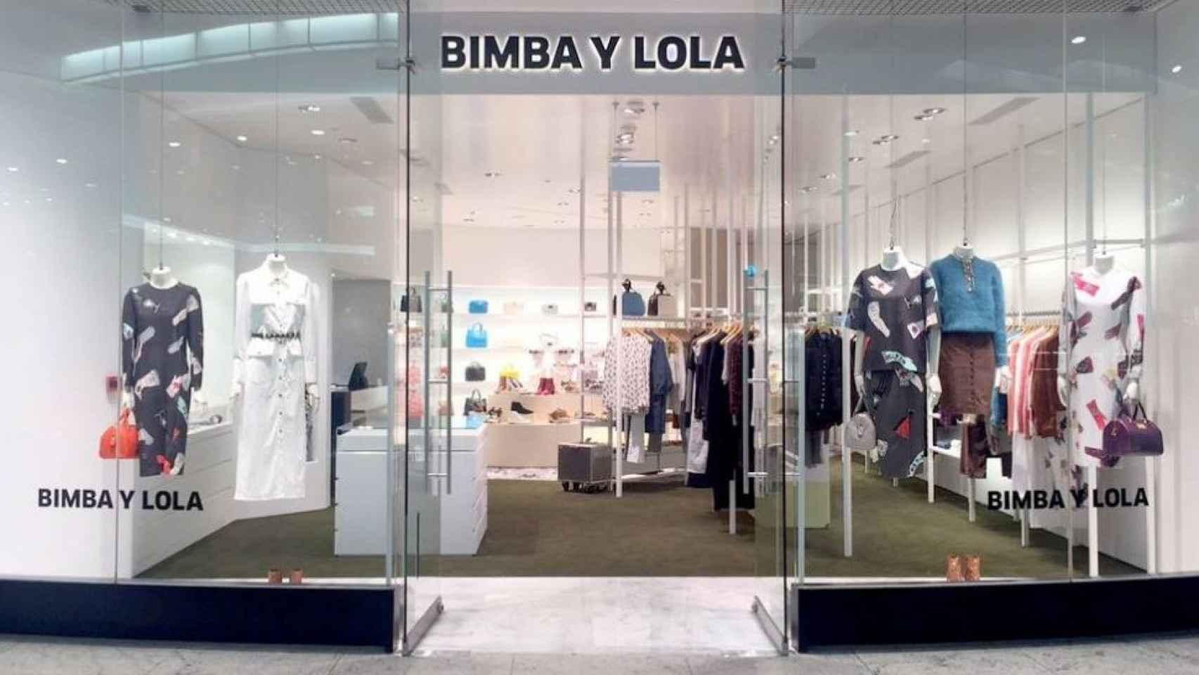 Un establecimiento de la firma gallega Bimba y Lola.