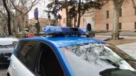 Valladolid-policia-biblioteca-insultos-expulsado