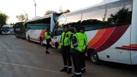 guardia civil autobuses