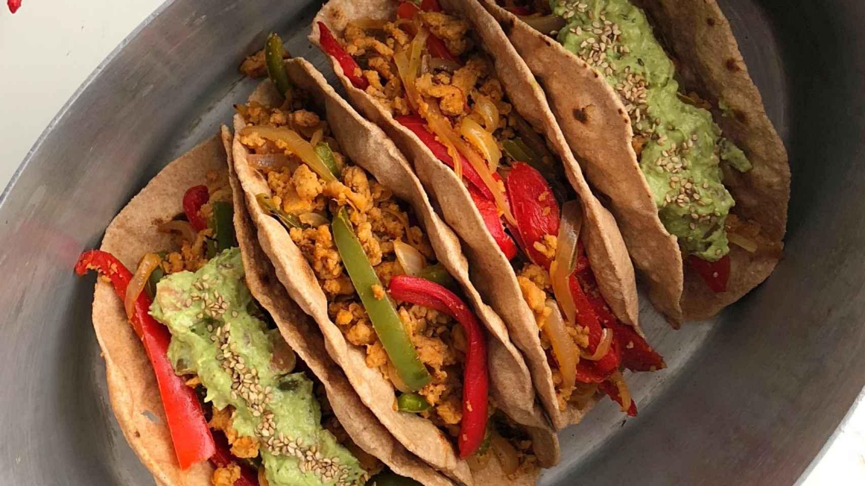 Tacos Veganos Receta Perfecta Para Cualquier Lunes Sin Carne
