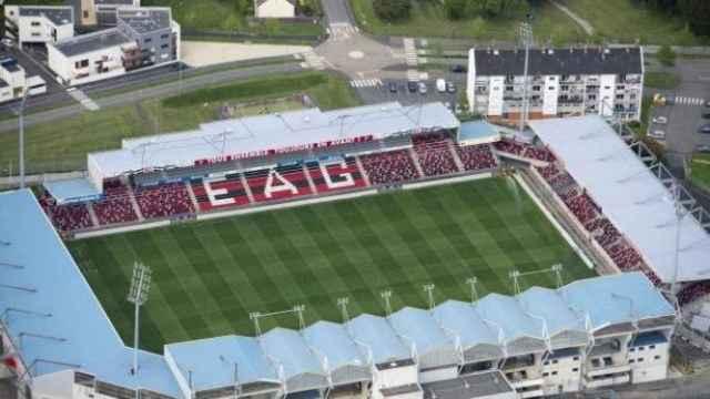 El estadio del Guingamp francés.