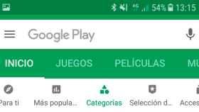 La Google Play Store se actualiza con nuevas opciones de navegación