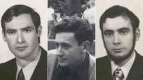 De izquierda a derecha, Fernando Veiga, Jorge Juan García y Humberto Fouz
