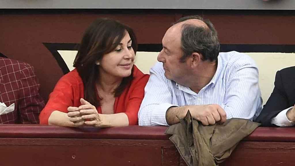 Cuando Carmen y Luis Miguel estaban juntos disfrutaban de las ferias taurinas unidos.