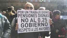 Manifestación jubilados pensiones 2