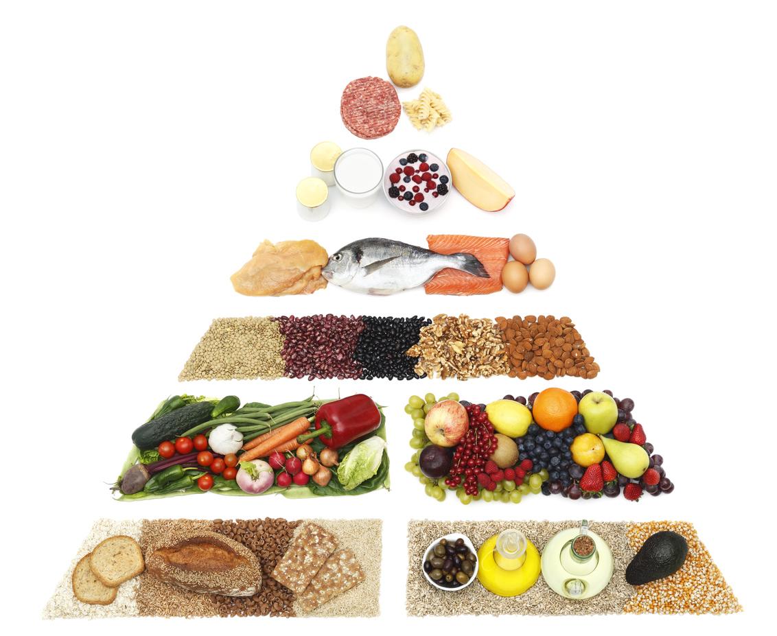 New Food Pyramid