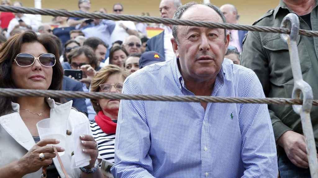 Luis Miguel Rodríguez es gran aficionado a la feria taurina.