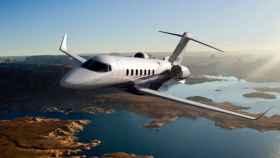 Avión privado.