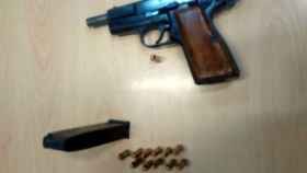zamora policia municipal arma reyerta