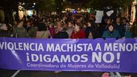 manifestacion contra violencia genero machista valladolid 2017 15