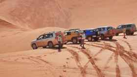 rally desierto