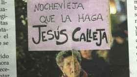 jesus calleja pancarta