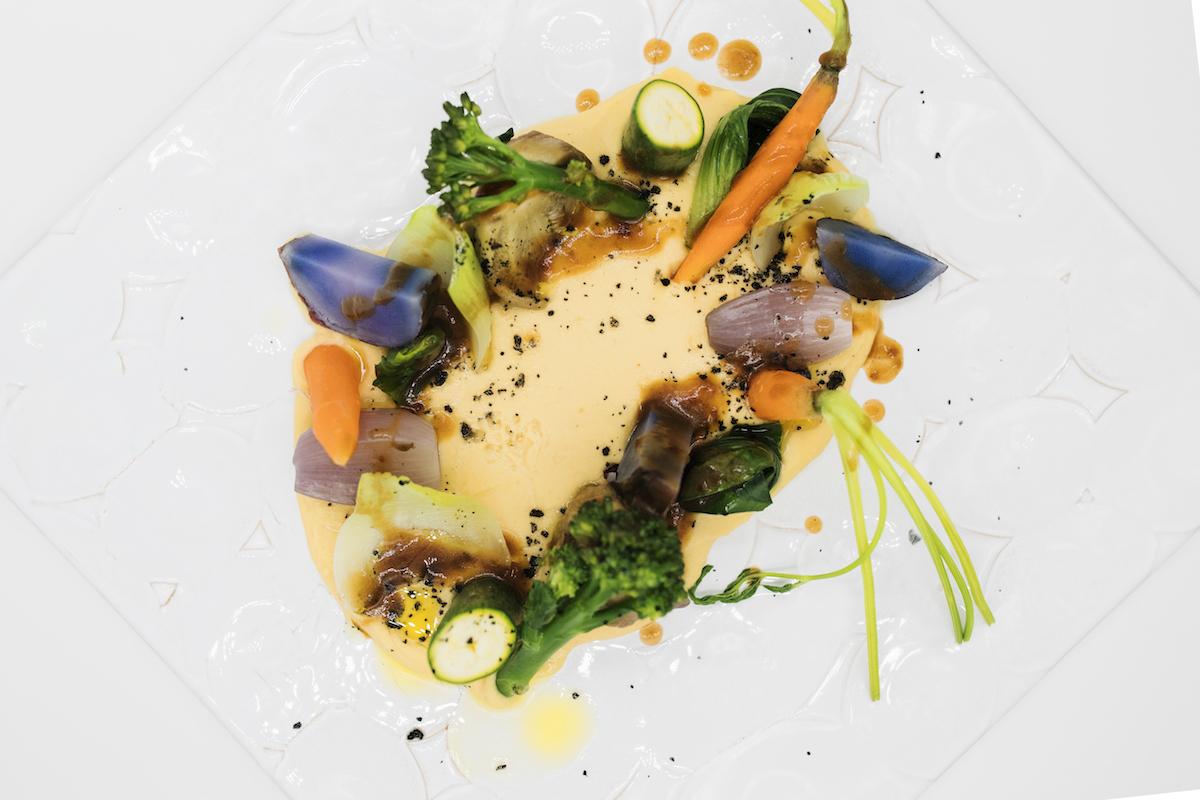 Magoga - Verduras de temporada a la brasa