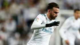 Mayoral, en el Real Madrid - Numancia