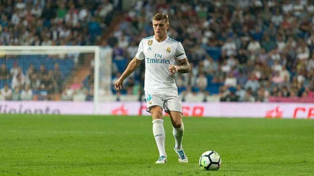 Kroos, en el Bernabéu. Foto: Pedro Rodríguez / El Bernabéu