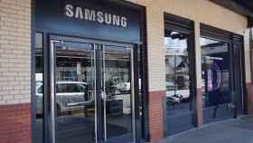 Imagen de archivo de una tienda de Samsung.