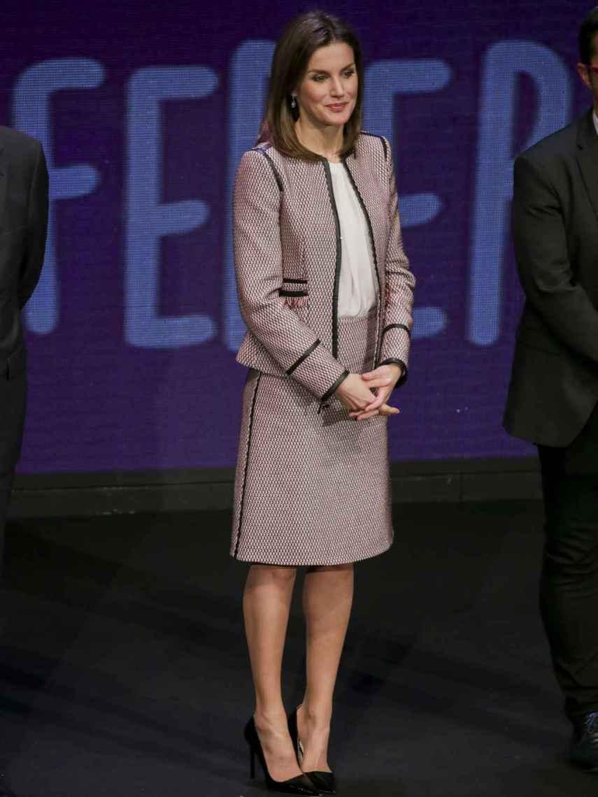 La Reina Letizia Ortiz.